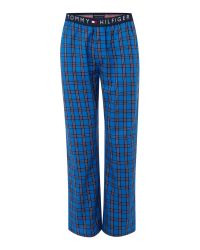 Tommy Hilfiger | Blue Woven Check Sleep Bottoms for Men | Lyst