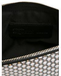 Alexander McQueen | Black Mini Skull Print Clutch for Men | Lyst