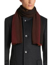 BOSS Red 'calores' | Pinstripe Ombre Scarf for men