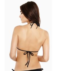 Onia - Black Megan Adjustable String Bikini Top - Lyst
