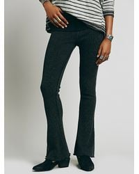 Free People | Black Intimately Womens Kind Of In A Kick Flare | Lyst