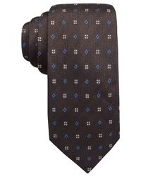 Vince Camuto | Brown Neriono Neat Slim Tie for Men | Lyst
