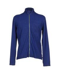 Dondup - Blue Cardigan for Men - Lyst