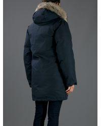 Woolrich Blue 'Arctic' Parka for men