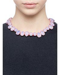 J.Crew - Pink Mixed Brûlée Necklace - Lyst