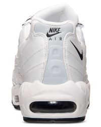 Nike | White Men's Air Max 95 Running Sneakers From Finish Line for Men | Lyst
