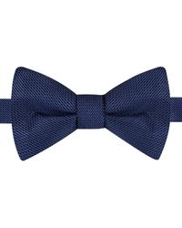 Tommy Hilfiger | Blue Grenadine Solid To-tie Bow Tie for Men | Lyst