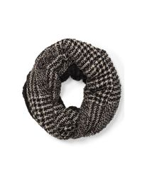 Ralph Lauren | Black Michele Infinity Scarf | Lyst