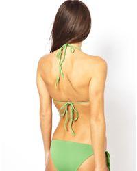 Melissa Odabash - Green Istanbul Bikini Set - Lyst