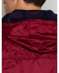 Raging Bull | Red N/alightweight Cagoule Full Zip Mac for Men | Lyst