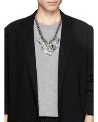 Venessa Arizaga | Metallic 'ready To Party' Necklace | Lyst