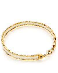 Astley Clarke Metallic Rock N Roll Nugget Bracelet