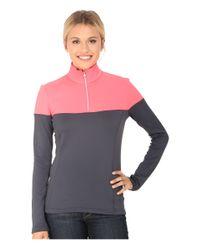 Spyder | Pink Etna Therma Stretch T-neck | Lyst