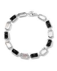 Ippolita | Metallic Sterling Silver Wonderland All-stone Linear Bracelet In Astaire | Lyst