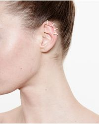 Repossi | Pink 18k Rose Gold And Diamond Ear Cuff | Lyst