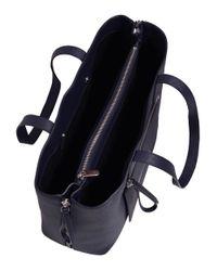 Marc By Marc Jacobs | Blue Zip It Saffiano Zipper Tote Bag | Lyst