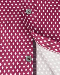 Ted Baker | Red Diamond Print Shirt for Men | Lyst