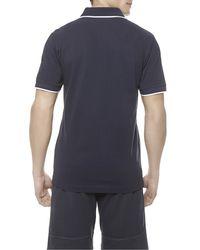 La Perla   Blue Polo Shirt for Men   Lyst