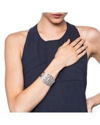 Lulu Frost - Metallic Larkspur Bracelet Silver - Lyst