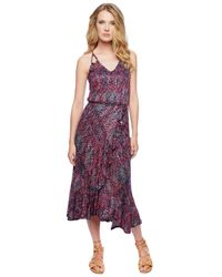 Ella Moss | Blue Catalina Wrap Dress | Lyst