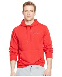 Polo Ralph Lauren - Red Polo Sport Fleece Pullover Hoodie for Men - Lyst