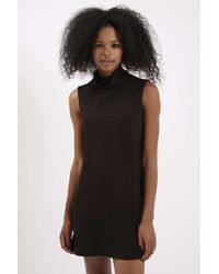 TOPSHOP - Black A-line Dress By Glamorous - Lyst