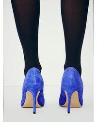 Free People - Blue Dolce Vita Womens Cotton Castle Heel - Lyst