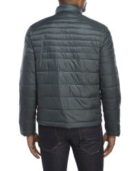 Kenneth Cole | Gray Packable Puffer Jacket for Men | Lyst