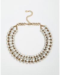 ALDO - Metallic Princes Necklace - Lyst