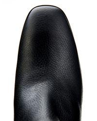 Nicholas Kirkwood - Black Grained-Leather Ankle Boots - Lyst