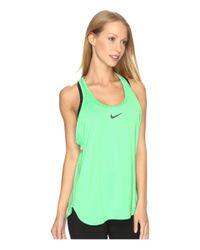 Nike - Green Court Tennis Tank - Lyst