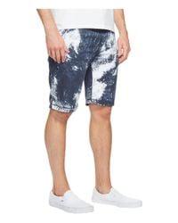 Calvin Klein Jeans - Blue Palm Print Shorts for Men - Lyst