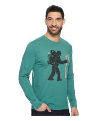 Life Is Good. - Green Wild Man Candy Long Sleeve Crusher Tee for Men - Lyst