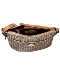 Tommy Hilfiger - Natural Summer Of Love North/south Crossbody Jacquard - Lyst