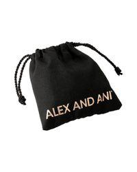 ALEX AND ANI - Metallic Words Are Powerful - Seaside Rock On Bangle Bracelet - Lyst