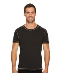 Agave - Black Skeg Short Sleeve Slub Jersey T-shirt for Men - Lyst