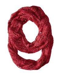 Coal - Red The Madison Scarf - Lyst