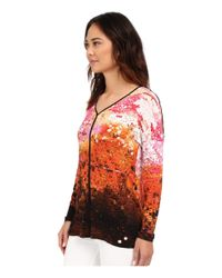 Miraclebody - Multicolor Trina Contrast Trim Tunic W/ Body-shaping Inner Shell - Lyst