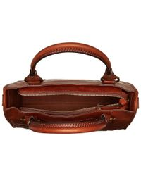 Frye - Brown Melissa Satchel - Lyst