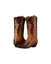 Old West Boots - Brown Lf1539 - Lyst