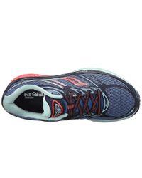 Saucony - Blue Women's Guide 9 Running Shoe - Lyst