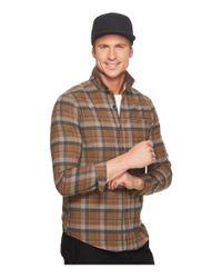 Volcom - Brown Caden Long Sleeve for Men - Lyst