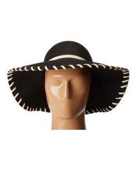 San Diego Hat Company - Black Wfh3548 Wool Floppy With Whip Stitch - Lyst