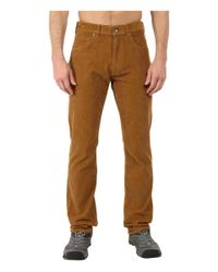 Patagonia - Brown Straight Fit Cords - Short for Men - Lyst