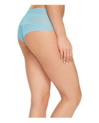 Cosabella - Blue Sweet Treats Zebra Hotpants - Lyst
