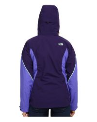The North Face - Purple Boundary Triclimate® Jacket - Lyst