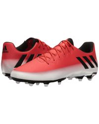 Adidas - Red Messi 16.3 Fg for Men - Lyst