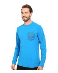 Mountain Hardwear - Blue River Gorgetm L/s Crew for Men - Lyst