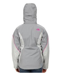 The North Face - Gray Boundary Triclimate® Jacket - Lyst