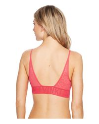 Calvin Klein - Pink Radical Bralette Unlined - Lyst